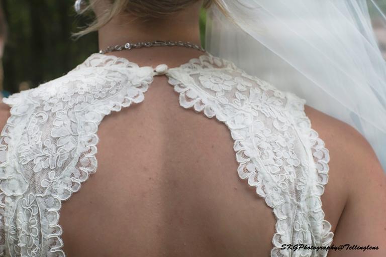 Cassie In Wedding Dress _BACK